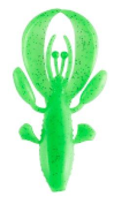 画像1: ヒラヒラタコクロウ4インチ #T04カニグリーン